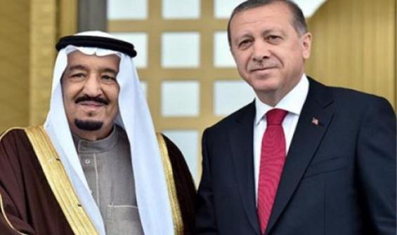 Cumhurbaşkanı Erdoğan, Kral Selman ile görüştü!