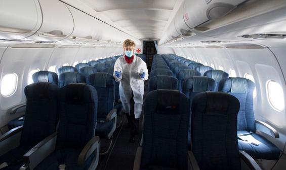 Uçakta maske krizi: 6 yolcuya gözaltı!