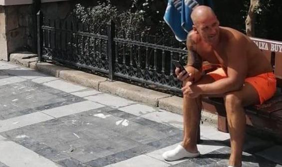 Antalya'da aynı İngiliz turist yine gözaltına alındı