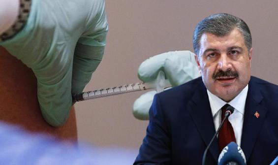 Bakan Koca'dan 3. doz aşı açıklaması