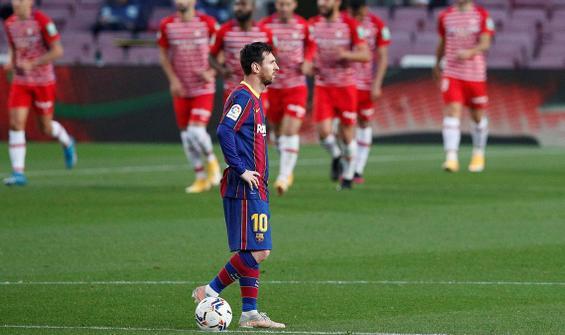 Messi'nin kritik maç öncesi başı dertte!