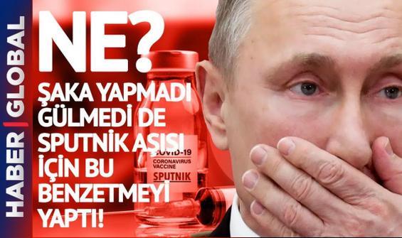 Putin, korona aşısını bakın neye benzetti? Dünya dondu kaldı!
