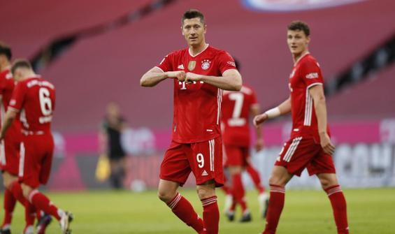 Bayern Münih, şampiyonluğunu yarım düzine golle kutladı