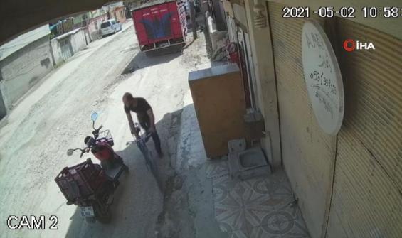 Saniyeler içerisinde cep telefonu hırsızlığı