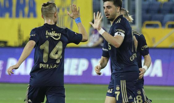 Fenerbahçe uzatma dakikalarında hayata döndü