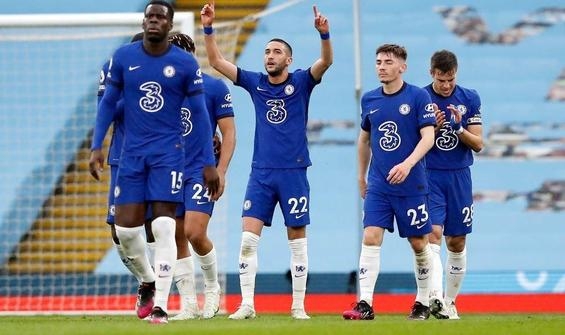 Chelsea'den Manchester City'e çelme