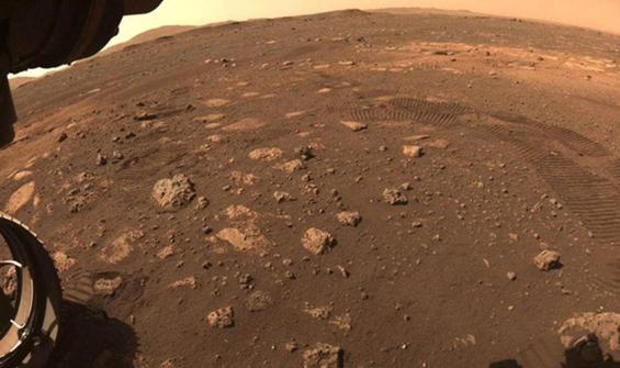 Mars'taki mini helikopterin ses kaydı yayınlandı