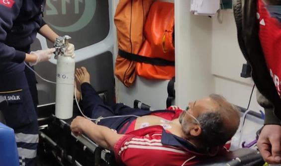 Gemide rahatsızlanan mürettebat İstanbul'da tahliye edildi