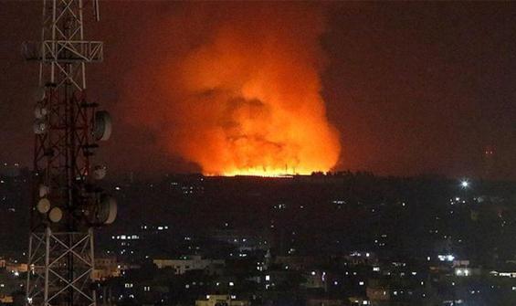 Mescid-i Aksa'da büyük panik! Bahçede yangın çıktı