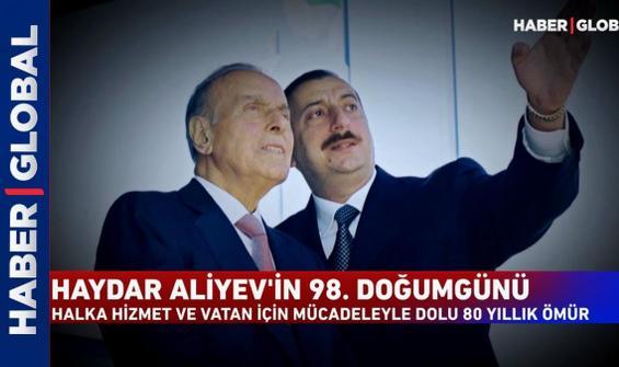 Haydar Aliyev'in 98. doğum günü