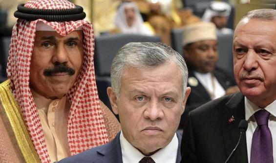 Erdoğan'dan iki ülke lideri ile Filistin görüşmesi