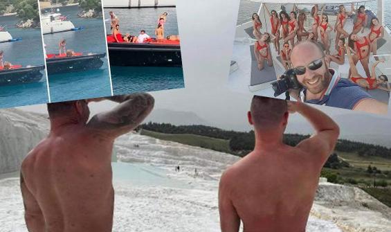 Tam kapanmada tatilci turistler ve çıplaklık krizi!