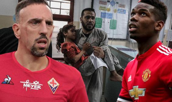 Dünyaca ünlü futbolcular Filistin'e destek verdi