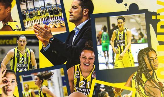 Kadınlar basketbolda Fenerbahçe şampiyon