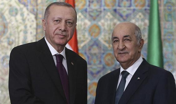 Erdoğan, Tebbun ile İsrail'in saldırılarını görüştü