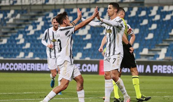 Ronaldo tarihe geçti, Juventus farklı kazandı