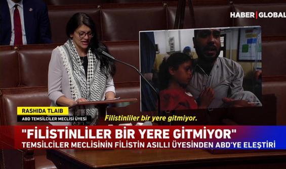 ABD temsilciler meclisinde Filistin tepkisi! Gözyaşlarını tutamadı