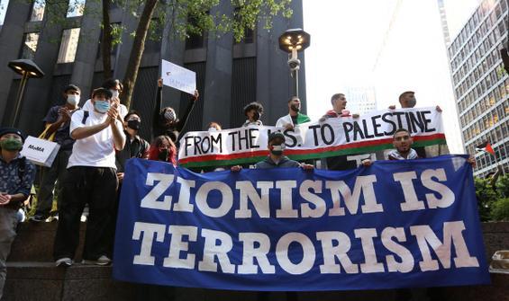 Dünya Filistin'e desteğini böyle haykırdı!