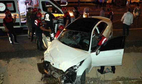 Feci kaza! Çok sayıda kişi yaralandı