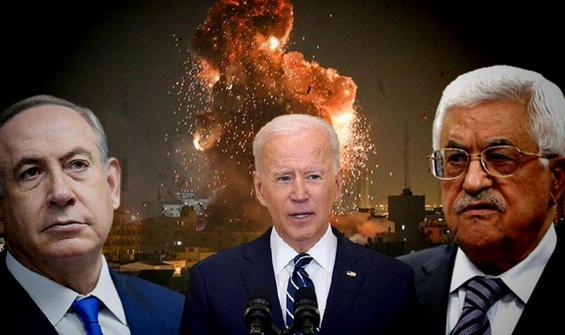 Biden, Netanyahu ve Mahmut Abbas ile görüştü