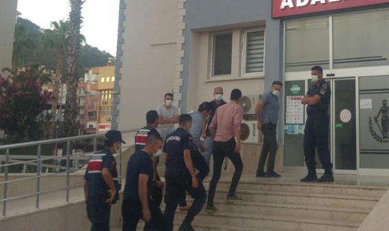 Trafik kazası sonrası çıkan kavgaya 2 tutuklama