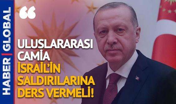 Cumhurbaşkanı Erdoğan'dan kritik Filistin görüşmesi!