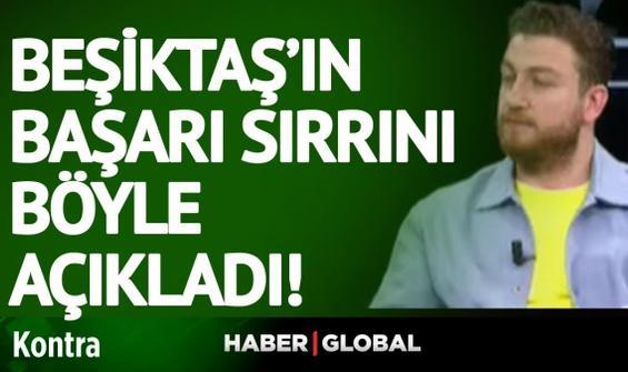 Yok böyle bir analiz! Uğur Karakullukçu Beşiktaş'ın sırrını böyle açıkladı!