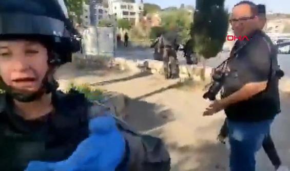 İsrail polisinin hedefinde bu sefer gazeteciler vardı