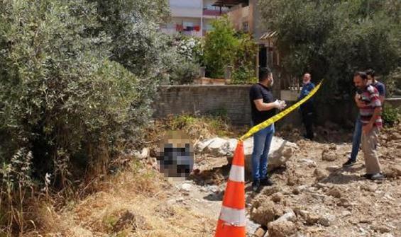 Tarsus'ta inşaat alanında kadın cesedi bulundu