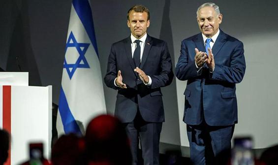 Macron: İsrail'den cevap bekliyoruz