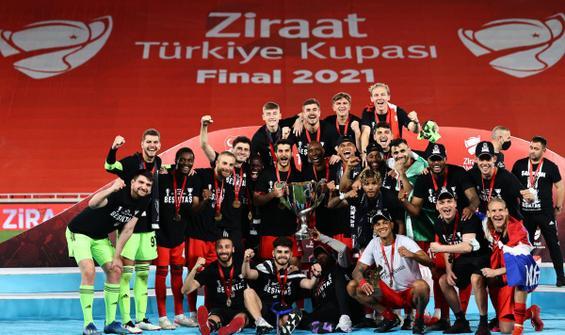 Türkiye Kupası da Beşiktaş'ın!