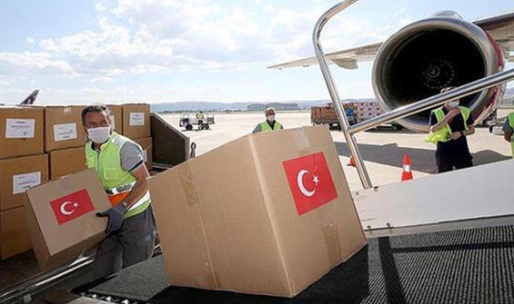 Türkiye'den Hindistan'a sağlık malzemesi yardımı