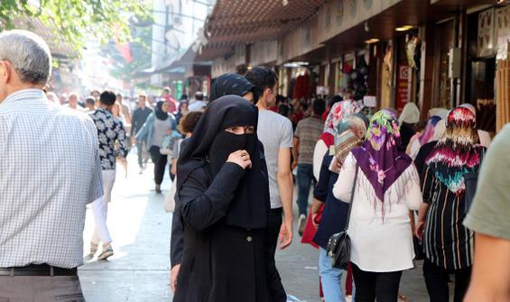 Suriyeliler, Türkiye nüfusunun yüzde 4,46'sını oluşturuyor