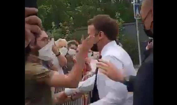 Macron'a tokat atmıştı! Dövüş ustası olduğu ortaya çıktı