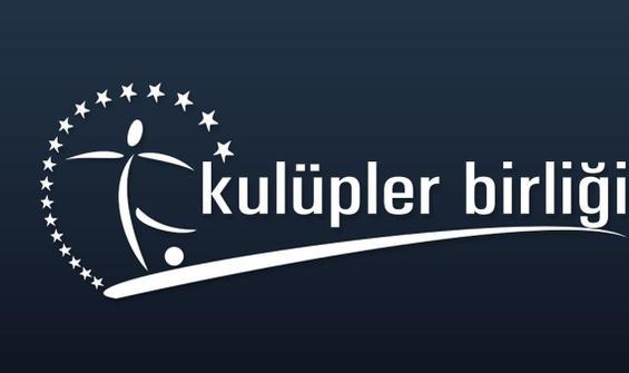 Kulüpler Birliği yabancı kuralının iptalini istedi