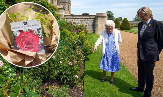 Kraliçe'den anlamlı kutlama: Eşinin adı verildi