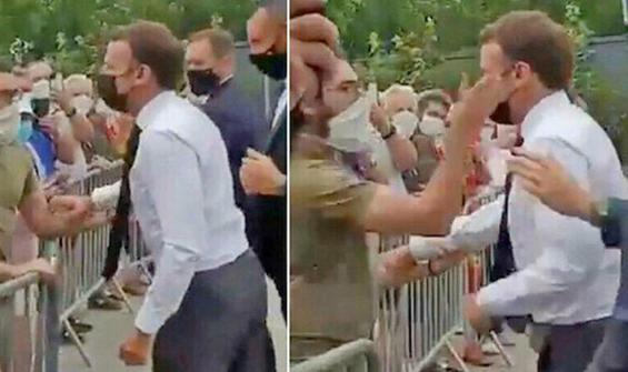 Macron'a tokat atmıştı! Cezası belli oldu