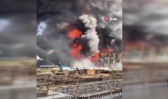 Tayvan'daki kömürlü elektrik santralinde yangın çıktı
