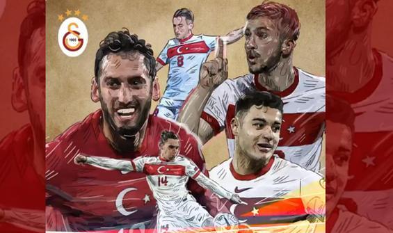 Galatasaray'ın paylaşımı olay oldu