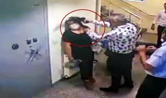 Kadın çalışanın kafasına silah dayayan müdür 'şaka' yapmış!