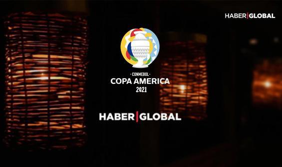 Copa America maçları Haber Global ve Kontra Youtube kanalında