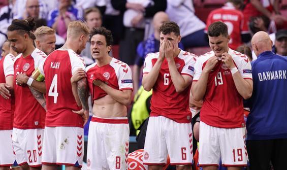 Danimarka - Finlandiya maçında yürekler ağza geldi!