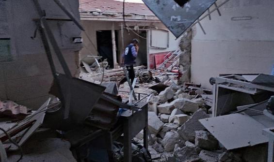 Afrin'de peş peşe füze saldırısı! Ölü ve yaralılar var