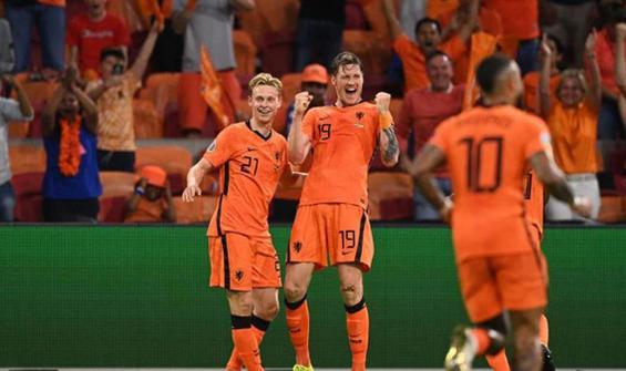 5 gollü maçta son gülen Hollanda oldu