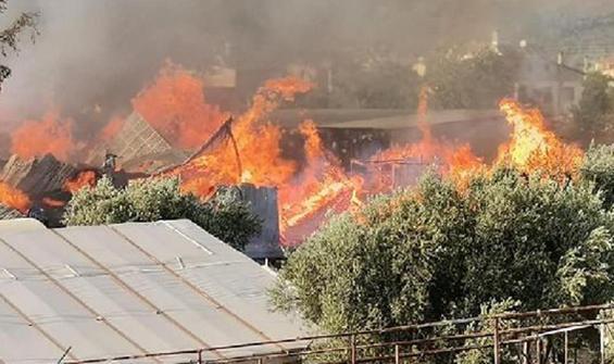 Muğla'da feci yangın! 2 itfaiyeci hastaneye kaldırıldı