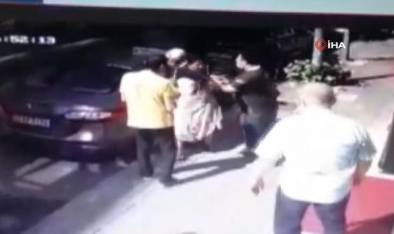 Suç üstü yakalanan hırsız çalışandan dayak yedi