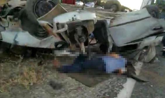 Gaziantep'te feci kaza: 3 ölü, 3 yaralı
