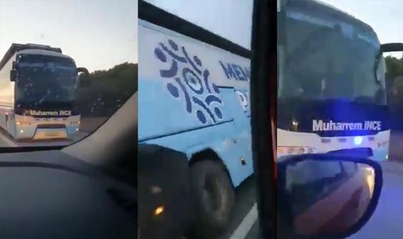 İnce'nin seçim otobüsü yolda kaldı!