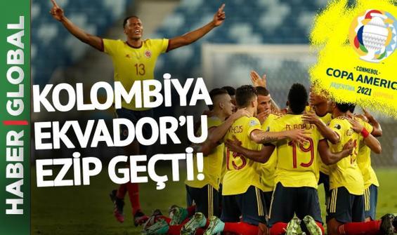 Kolombiya Ekvador maç özeti izle