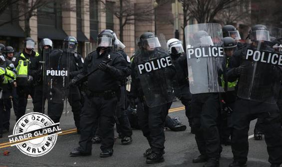 ABD'de polisler emekli oluyor, istifa ediyor...